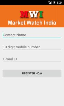 Market Watch India poster