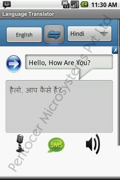 Language Translator apk screenshot