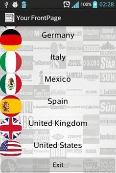 International Newspapers poster
