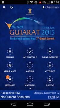 Vibrant Gujarat 2015 poster