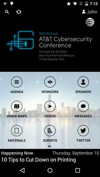 2016 AT&T Cybersecurity Conf. apk screenshot
