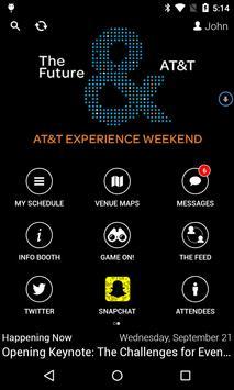 AT&T Experience Weekend 2016 apk screenshot
