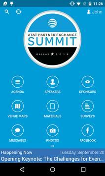 AT&T Partner Exchange Summit apk screenshot