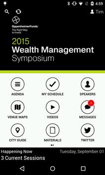 Wealth Management Symposium poster