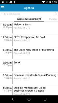 Principal Events apk screenshot