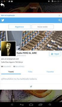 Radio Perú al Aire apk screenshot