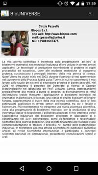 BioUNIVERSE apk screenshot