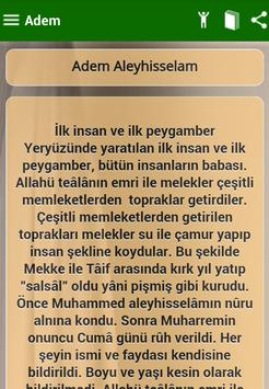 Peygamberler apk screenshot