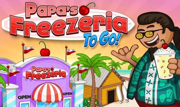 Free Papas Freezeria Guide poster