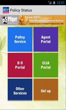 LIC ONLINE POLICY STATUS PFIGE apk screenshot