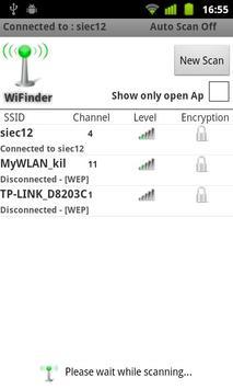 WiFinder apk screenshot
