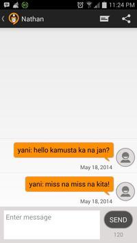 Text101-Free SMS to PINAS apk screenshot