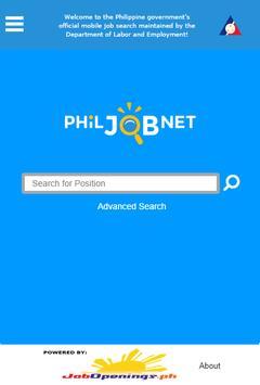 PhilJobNet apk screenshot