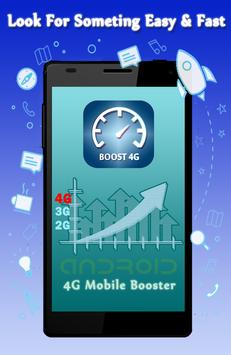4G Phone Booster - Save Data poster