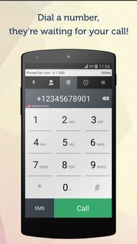 PhoneClub – Best Calling Rates apk screenshot