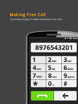 Making Free Call Guide poster