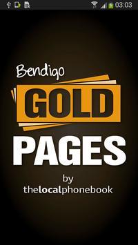 Bendigo Gold Pages poster