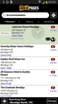 Bendigo Gold Pages apk screenshot