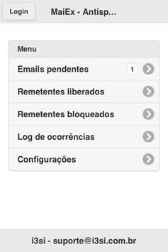 MaiEx Antispam apk screenshot
