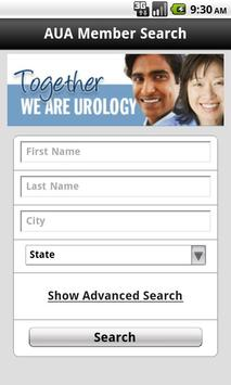 AUA Member Search apk screenshot