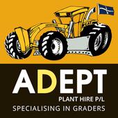 Adept Plant Hire Mobile App icon