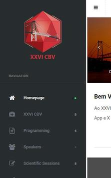 XXVI CBV 2015 apk screenshot