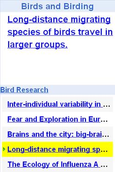 Bird and Bird Watching Updates poster