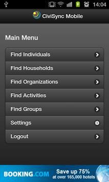 CiviSync Mobile apk screenshot