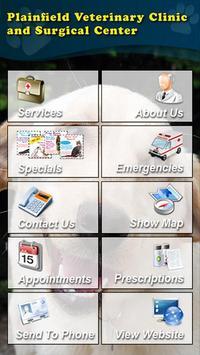 Plainfield Veterinary Clinic poster