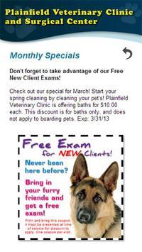 Plainfield Veterinary Clinic apk screenshot