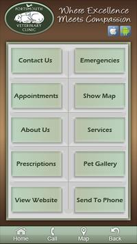 Portsmouth Veterinary Clinic poster