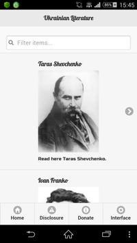 Ukrainian Literature poster