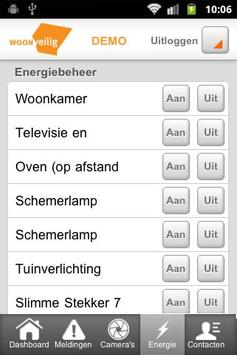 WoonVeilig Alarmsysteem apk screenshot