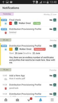 Worksection apk screenshot