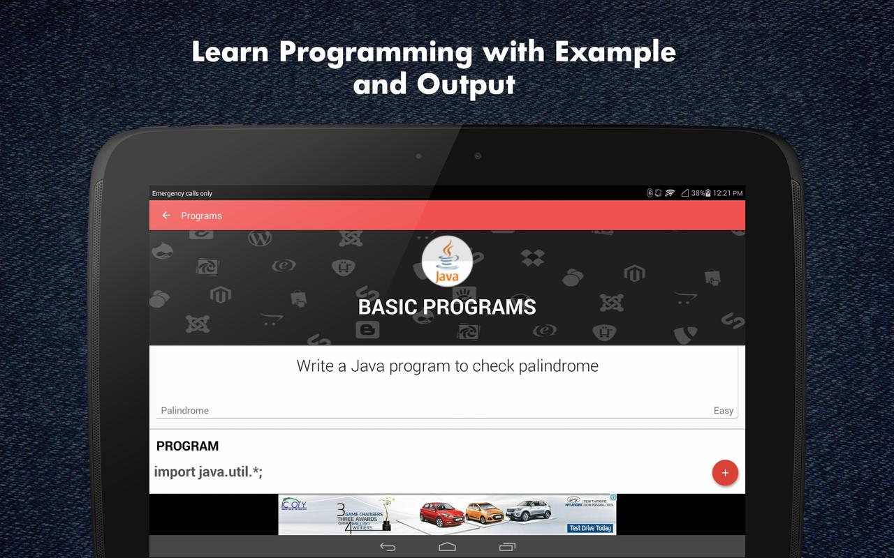 learn java programming apk education app for learn java programming apk screenshot