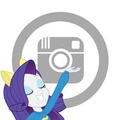 Rarity girl Camera icon