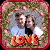Love You Romantic Frame Maker icon