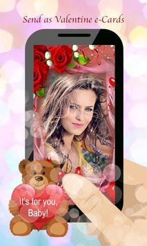 Love You Romantic Frame Maker poster