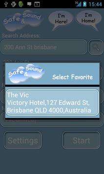 Safe and Sound apk screenshot