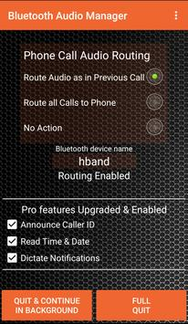 Bluetooth Audio Manager poster