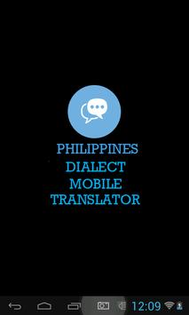 Philippines Dialect Translator poster