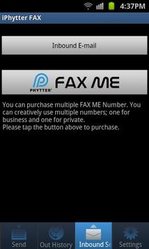 iPhytter FAX Android Edition apk screenshot