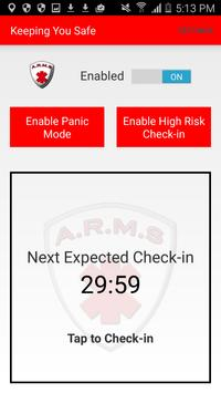 ARMS – Arms Reach Monitoring apk screenshot