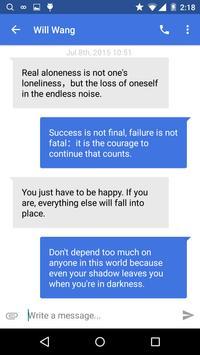 Picoo Messenger - Text SMS apk screenshot
