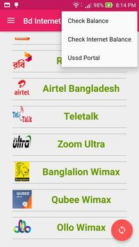 BD Internet Packages apk screenshot