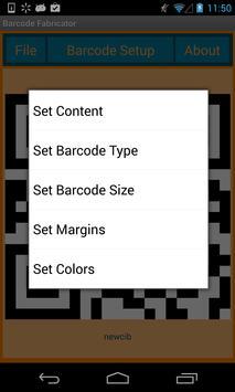 Barcode Fabricator poster