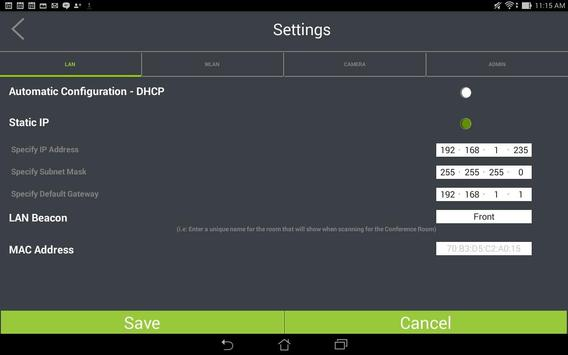 Equal-i Control Application apk screenshot