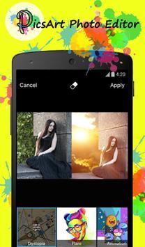Free PicsArt Filter photo Tip apk screenshot