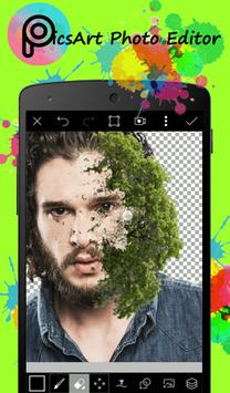 Guide for PicsArt Photo poster