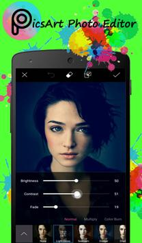 Guide for PicsArt Photo apk screenshot